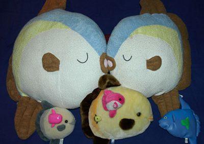 Sunfish plush toys